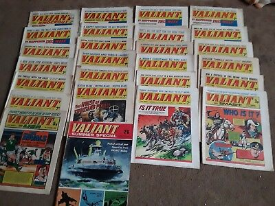Valiant Comics - 25 Issues  - Ranging 1963-1975 & 1968 Summer Special - Great!