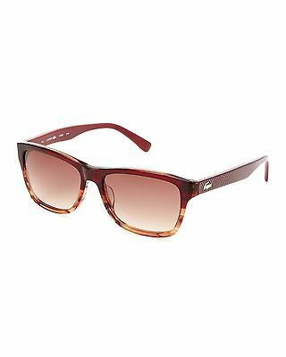 afd11c2846b8 NEW LACOSTE L709S 615 Red Brown Gradient Unisex Sunglasses 55 16 140