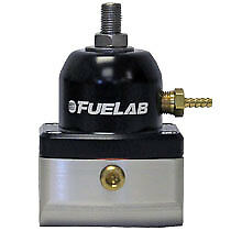 FueLab 50101 4-12PSI Adjustable Bypass Fuel Pressure Regulator Gas Diesel etc