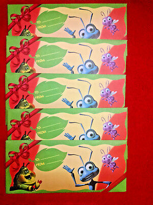 5 Envelopes with 3 cards ea-(15 ttl) McDonald's Phone Cards-A BUGS LIFE EXLNT!