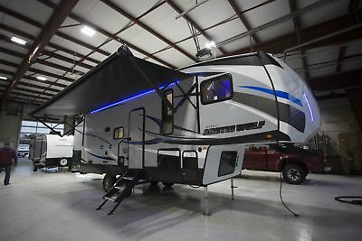 Arctic Wolf 265DBH8 5th Wheel Camper RV Queen Bed Lift System Dbl Bunks in Rear