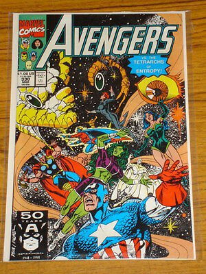 Avengers #330 Vol1 Marvel Comics March 1991