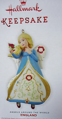 HALLMARK 2013 ENGLAND Angels Around the World  3rd in series Ornament  NEW