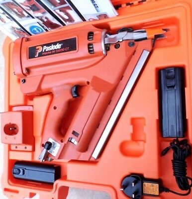 Paslode Im350 90 Ct Nail Gun First Fix Free Next Day