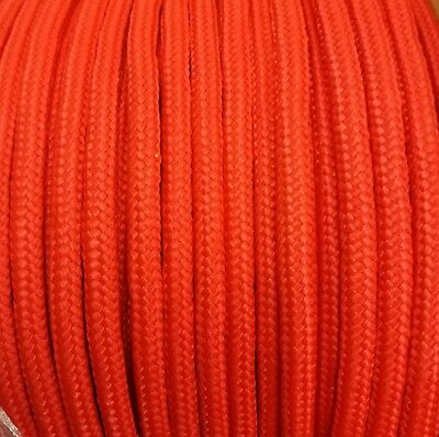 10mm RED Strong Braided Polypropylene Plaited Poly Rope Cord Yacht Sailing