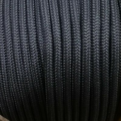 10mm NAVY BLUE Strong Braided Polypropylene Plaited Poly Rope Cord Yacht Sailing