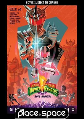 Mighty Morphin Power Rangers 2018 Annual #1A (Wk17)