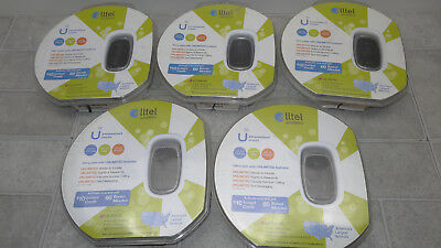 Lot of 5  LG Aloha AX145 Flip Phone Cell Phone Alltel Wireless  New in Package