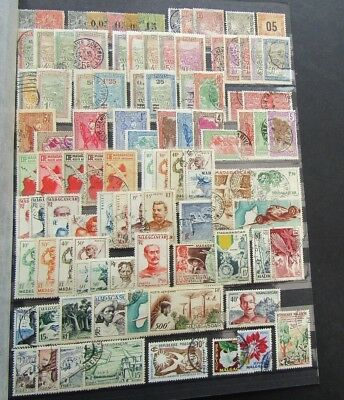 Madagascar - Collection Of Earlies On Large Double Sides Stocksheet - M/u