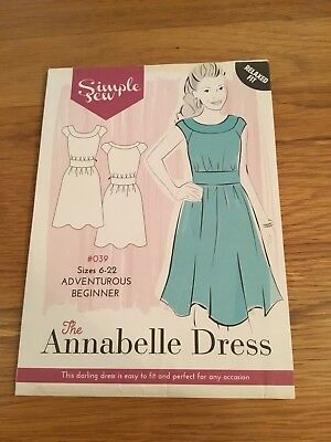 Simple Sew pattern The Annabelle Dress
