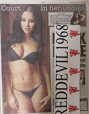 UK Page 3 pictures COURTNIE QUINLAN  Newspaper cuttings Great Collection 2013