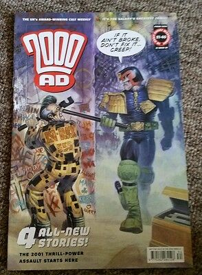 2000Ad #1234 Comic Judge Dredd 2001