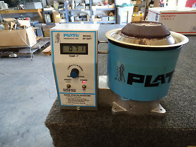 Plato SP-500T Precision Solder Pot LCD Screen, Nice Clean unit FREE SHIP
