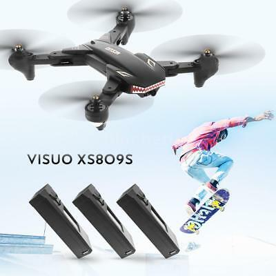 VISUO Foldable Drone XS809S 2.0MP Wide Angle Camera Quadcopter One Key Return