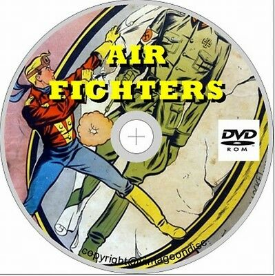 Air Fighters 22  issues Full run on disc War US