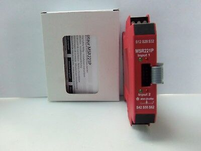 New Allen Bradley MSR221P Guardmaster Safety Relay 24VDC 2W Series A NIB
