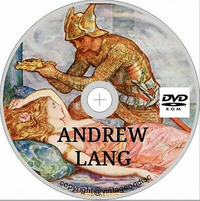 Andrew Lang fairy book collection + more DVD Rom