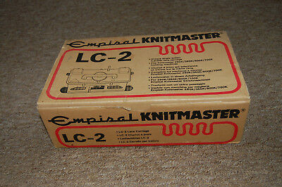 Knitmaster/ Silver Reed LC-2 Lace Carriage  for Models 260K/ 360K/600K/700K