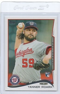 Tanner Roark Pop-Up List 2014 Cards Qty Disc 40%-60%