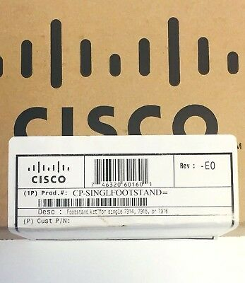 Lot of  4 Cisco CP-SINGLEFOOTSTAND Used for Single Expansion Modules