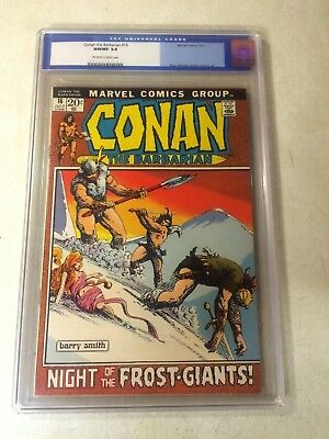 CONAN the BARBARIAN #16 CGC 9.8 NM/MT TOP GRADED, BW SMITH FROST GIANTS, BY CROM