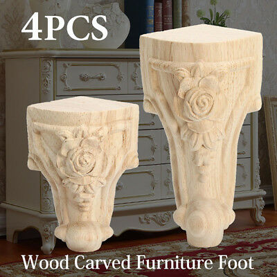 Wooden Furniture Carved Foot Pine Chests Sofa Legs For Bed Feet Chairs Settees