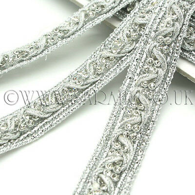 SILVER CRYSTAL Rhinestone trimming,edging,trim,sequin,beads,EMBELLISHMENT,ART