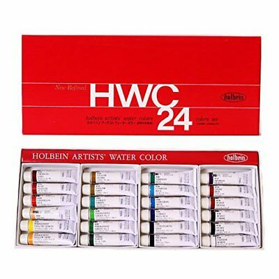 Holbein Artists Japan Transparent Watercolor 24 Colors Set 5ml W405 import z006