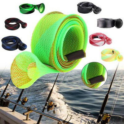 35mm 170cm Casting Fishing Rod Sleeve Cover Pole Glover Tip Protector Bags Sock