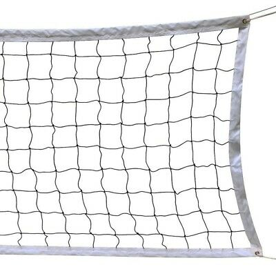 Outdoor Volleyball Net Beach School Court Sports Game Practice Water 32'x3' Mesh