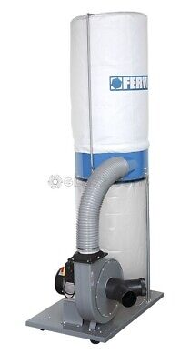 Dust Chip Extractor Collector Chippings Wood Sawdust 1500W Fervi 0759