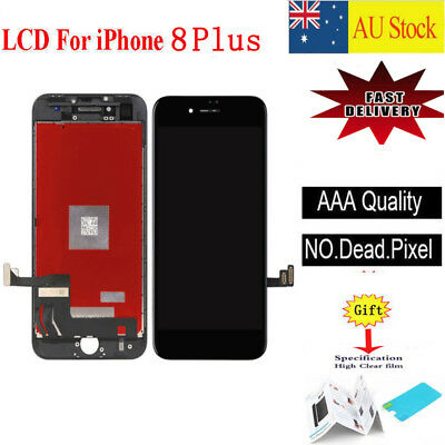 For iPhone 8 Plus 5.5'' LCD Display Touch Screen Digitizer Replacement Black