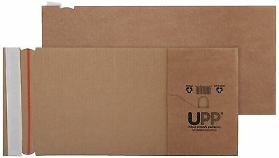 Blake Purely Book Wrap Mailing Postal Boxes Peel & Seal 320x290x80mm Pk 25 SHON
