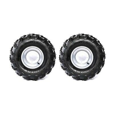 2 pack 18X9.5- 8 Tyre Tire and Rim for 150/160/200cc GO KART ATV Buggy