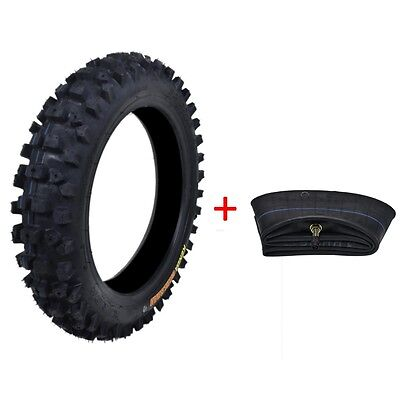 80/100-12 3.00-12 Tire Tyre and Tube for CT90 CT110 RM80 YZ80 Honda Dirt Bike