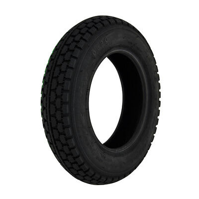 250 X 6 Black Block Power wheelchair or mobility scooter Tyre