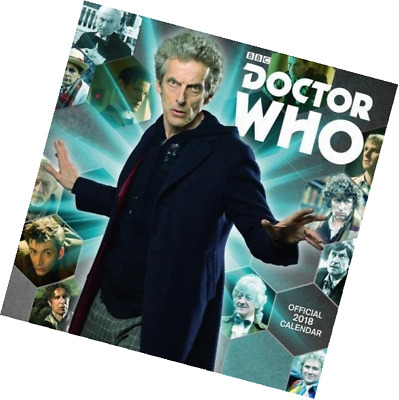 Doctor Who Classic Edition Official 2018 Calendar - Square Wall Format Calendar