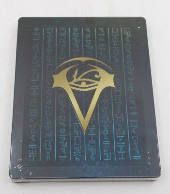 ASSASSINS CREED ORIGINS Collectors STEELBOOK Hülle OHNE Spiel NEU OVP