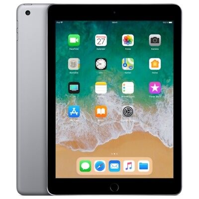 Apple iPad 9.7 2018 WiFi/WLAN 32GB space-grey MR7F2FD/A IOS Tablet PC Retina WOW