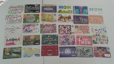 28 Mothers Day Gift Cards Starbucks, Nordstrom, Lowe's, Panera, Walmart,   Mint