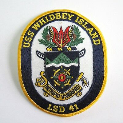 USS Whidbey Island LSD 41 Navy PATCH