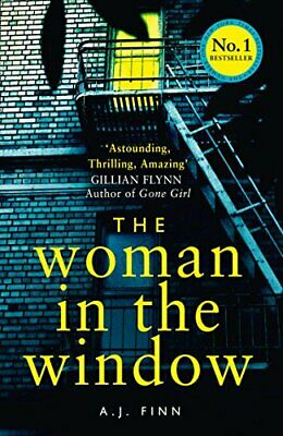 The Woman in the Window by Finn, A. J. Book The Cheap Fast Free Post
