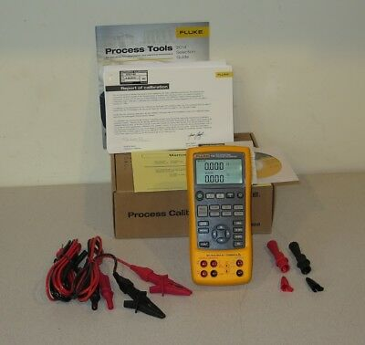 Fluke 725 Multi-Function Process Calibrator - New & Unused with Leads - 2015 Cal