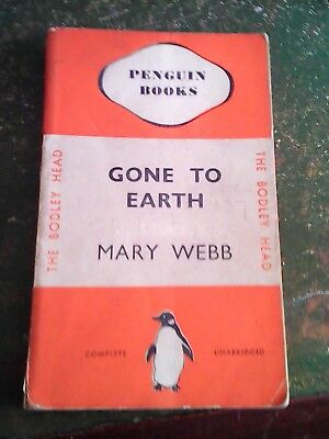 1935 First Edition Penguin  Gone To Earth by Mary Webb