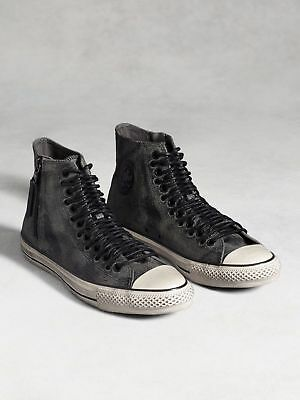 ba3dec9e8740 Converse John Varvatos Multi Lace Leader Zip High Hi Top 150166C Men s 8  Wom 10