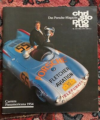Porsche Christophorus magazine # 229 March 1991 Carrera Panamericana automobilia