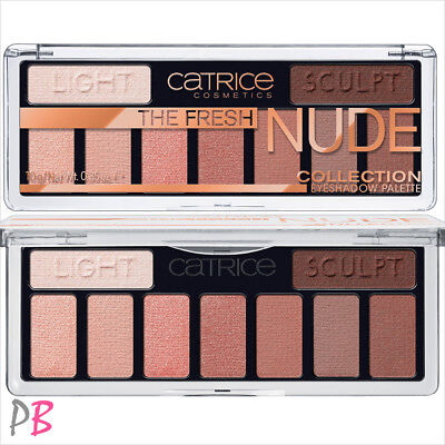 Catrice The Fresh Nude Collection Eyeshadow Palette Eye Shadows Beige Bronze