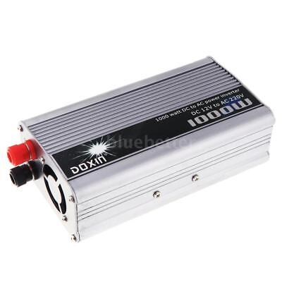 Portable DC 12V to AC 220V Power Inverter Charger Converter Adapter 1000W S0K2