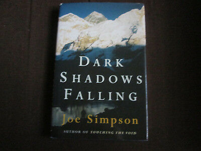 Joe Simpson signed Dark Shadows Falling