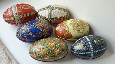 Set of 6 Collectable Eggs